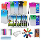 New 3D Rain Drop Clear Crystal Hard Case Cover For Samsung Galaxy S4 IV i9500