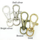 FREE SHIPPING gold bronze silver metal clasps keychain connector findings