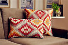 Bohemic Ethnic Asian Cotton Linen Decorative Waist Cushion Cover Throw Pillow