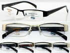 L402 Semi-Rimless Reading Glasses+50+75+1.0+100+1.5+150+1.75+2.+200+2.25+225+2.5