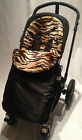 MACLAREN UNIVERSAL FIT ANIMAL PRINT FOOTMUFF COSY TOES.TECHNO XT XLR QUEST VOLO