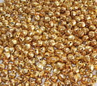 50 OR 100 x 9mm GOLD JINGLE BELLS-CRAFTS, JEWERLY MAKING, SEWING ETC.,