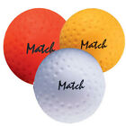 Grays Match Dimple Hockey Ball Pack of 12 - Indoor/Outdoor Equipment