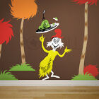 Children Wall Decals Wall Sticker - Dr seuss Characters Sam, Green Eggs and Ham