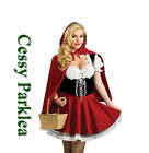 Little Miss Red Riding Hood Storybook Fancy Dress Halloween Costume Outfit 6-18