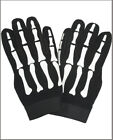 MOTORCYCLE BIKER MECHANICS RIDING GLOVES SKELETON HAND BONE