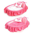 Brand New KOJIMA Pink Candy Soft Warm Cute Lace Cradle Pet Bed for Dog Cat