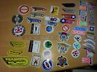VTG 70's & 80's TRACKER TRUCKS NOS OLD SCHOOL SKATEBOARD STICKER aggro zone wing image