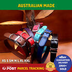 Leather Dog Collar/Collars SEWN  Sizes Small/Medium/Large