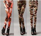 Hot Fashion Army Commando Military Print Camouflage Stretch Soft Leggings