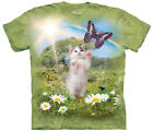 Kittys Dreamland Adult  Animals Unisex T Shirt The Mountain