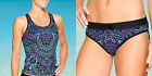 2 PC NEW ATHLETA  swimsuit Cayo Coco Ready To Run Tankin and Bottom XXS A232