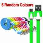 USB Noodle 8Pin Sync Charger Cable for iPhone 6 Plus 5 5s iPod Touch Nano iPad 4
