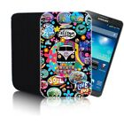 'CAMPERVAN' (N2) Neoprene Pouch for Samsung Galaxy Note 2 & 3 Neo Case Cover
