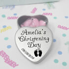 Luxury Personalised Christening Favours Gift With Sweets Party Table Decorations