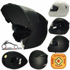 Viper 3GO E115 Motorbike Motorcycle Flip Up Helmet ACU GOLD Built-in Sun Visor