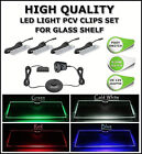 GLASS SHELF LED LIGHT CLIP SET