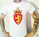 NORWAY Coat Of Arms T-Shirt. Norwegian Emblem