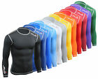 Sub Sports DUAL Mens Compression LONG SLEEVE Top in Various Colours