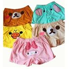 Girl San-X Rilakkuma Womens Lounge Cute Pants Sleeping Shorts Elastic Sleepwear