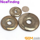 Nicefinding New 30mm 40mm 50mm ring silver gray pryite for pendant 1 pcs
