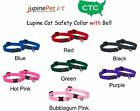 Lupine CAT SAFETY COLLAR with BELL with Lifetime Guarantee