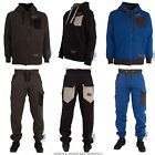 New Mens Designer Hoody Tracksuit Jacket Top Jogger Pants Bottom Sports Wear