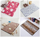 40x60cm Anti-slip Home Bathroom Toilet Door Absorbent Living Mat Pad Bathmat Rug
