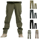 Mens Casual Waterproof Windproof Military Cargo Camo Combat Pants Trousers S-3XL