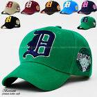 Unisex NEW Men Women Embroidered baseball cap sports hat Dragon D logo 9colors