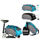 13L Bike Cycling Bicycle Rear Carrier Multi-funtional Bag Reflective Straps