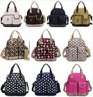 New pretty 5Pcs Baby Diaper Nappy Bag Backpack mummy bag backpack(BP016)