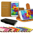 Book Flip Luxury Cover PU Leather Wallet Case For Samsung Galaxy S5 i9600