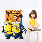 Despicable Me Removable Wall stickers Decal Kids Decor Home Mural Art UK