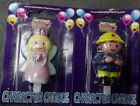 New 7cm Birthday Party Character Cake Candle Boy Girl Single Sided Celebrations