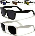 NEW BLACK WAYFARER MENS LADIES WOMENS RETRO POLARIZED VINTAGE DRIVING SUNGLASSES