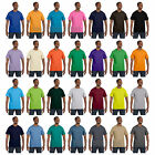 Hanes Mens Short Sleeve Tagless T Shirt  S M L XL 2XL 3X 4XL 5XL 5250