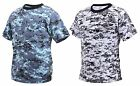 Boy's & Girl's Digital Camouflage T-Shirt - Kid's Sky Blue or City Digital Tee's