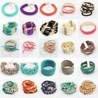 Womens Fashion Classical Solid Beads Friendship Bracelet Bangle Jewellery Gifts