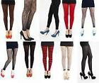 High Quality Designer Footless Tights by Pamela Mann 7 Styles/Colours NEW