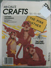 McCALLS PINK PANTHER COSTUME SEWING PATTERN 2748