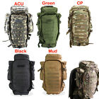 Military USMC Army Tactical Molle Hiking Hunting Camping Rifle Backpack Bag