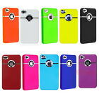 New Fashion Lovely Pure Color Hard Back Case Cover Skin For iPhone 4 4G 4S