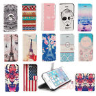 Colorful Cute Magnetic PU Leather Flip Stand Case Cover Skin For iPhone 5 5G 5S