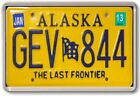 FRIDGE MAGNET - License Plates (Various Design)- US States American licence