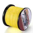Spider Braid 100m-2000m 10LB~300LB Yellow Braid Fishing line/Agepoch line PE