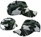 Kids Urban Camouflage Baseball Cap Childrens Boys Cotton Army Combat Camo Hat
