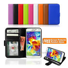 2014 NEW Wallet Leather Flip Stand Case Cover For Samsung Galaxy S5 4G LTE G900