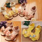 Summer Newest Kids Child Toddlers Girls Bowknot Shiny Bead Circled Sandal Shoes