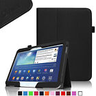 For Samsung Galaxy Tab 3/Tab 4 10.1 inch Tablet Folio Leather Stand Case Cover